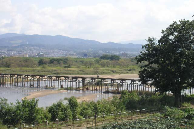 流れ橋/上津屋橋