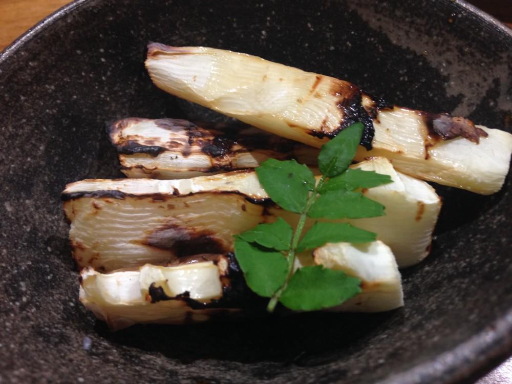 白子たけのこ 焼き筍